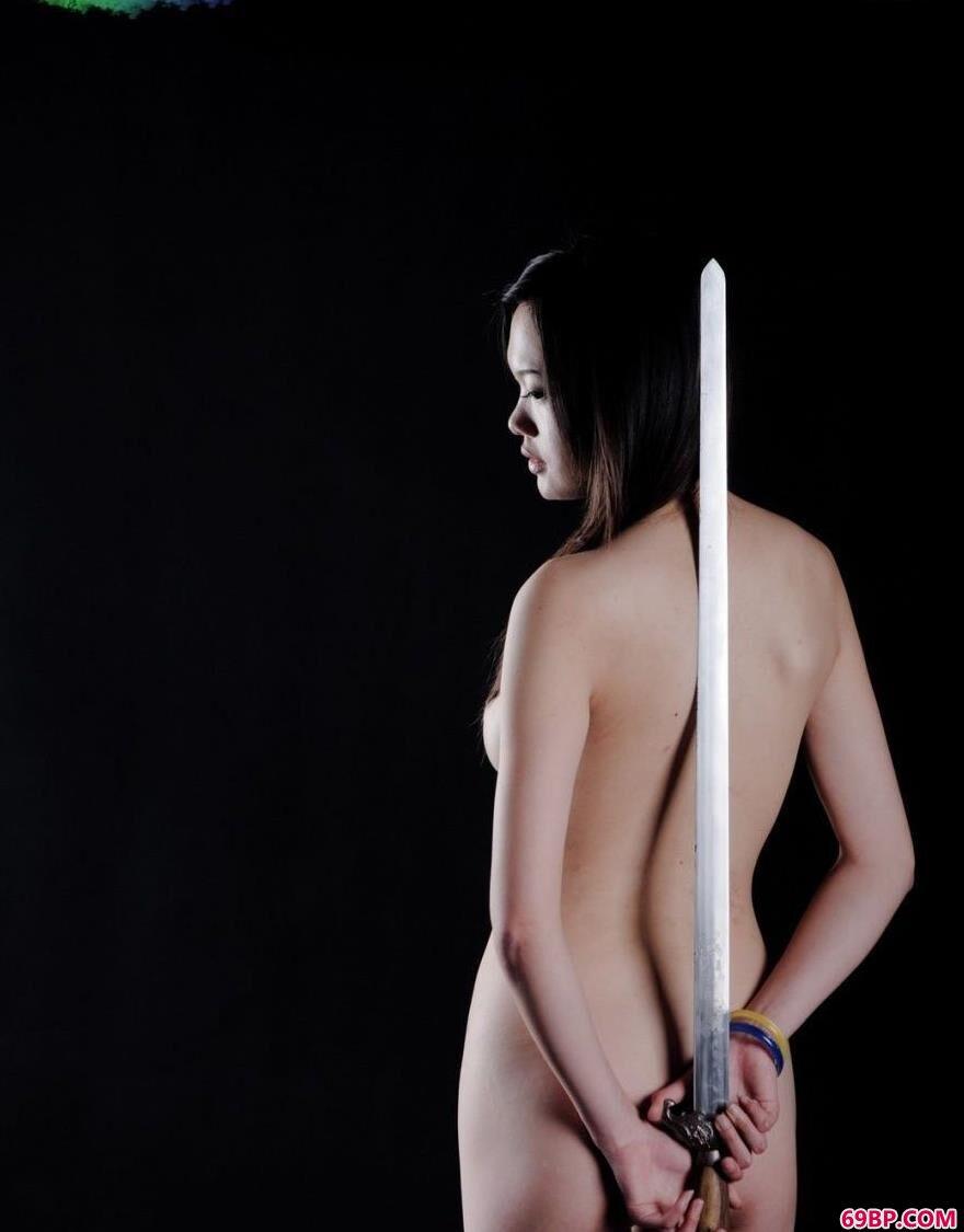 裸模艾文古典的美1