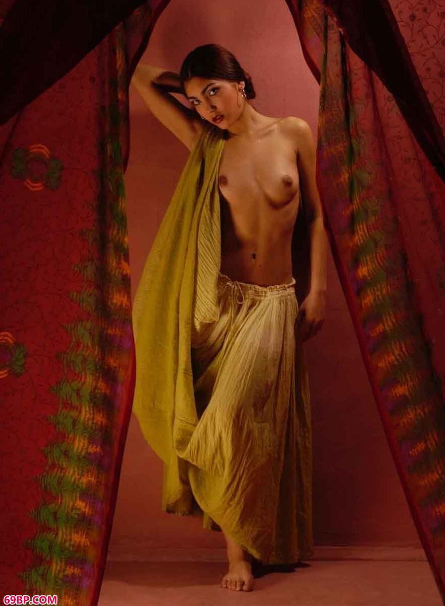 西班牙名模Flamenco室拍民族舞蹈人体